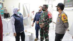 Gubernur Pastikan RS Lapangan Tangani COVID-19 di Malang Raya Segera Beroperasi