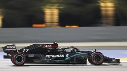F1 GP Sakhir: Tak Ada Hamilton, Bottas Pole