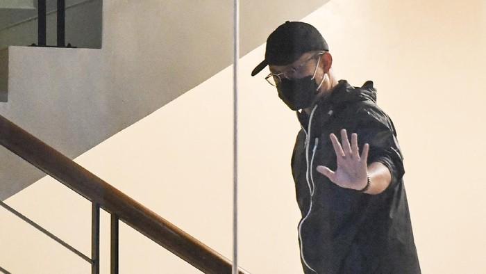 Foto: Mensos Juliari Batubara Serahkan Diri ke KPK