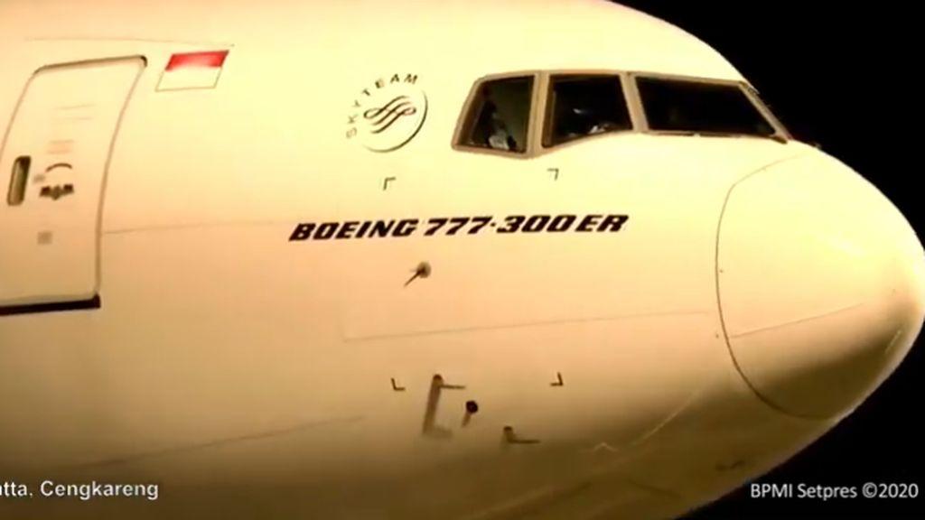 Garuda Klaim Pesawat Boeing 777-300ER Layak Terbang