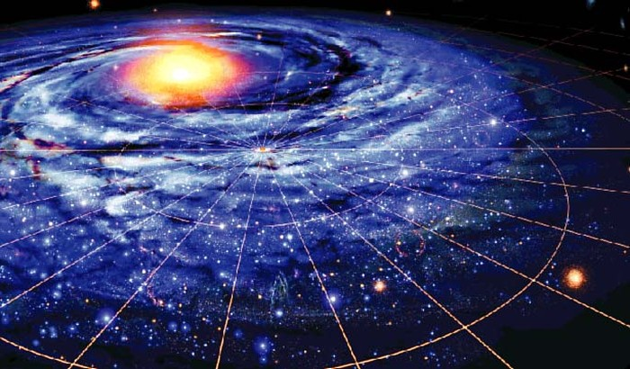 peta galaksi bima sakti