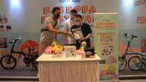 Pemenang Kompetisi bjb Boba Festival Bawa Pulang Sepeda Brompton