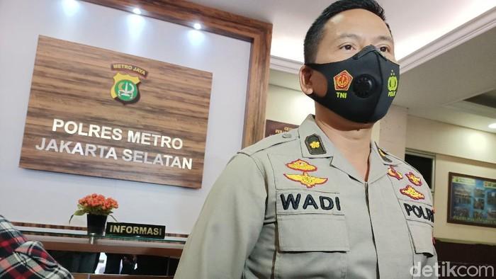 Kasat Narkoba Polres Jakarta Selatan Kompol Wadi Sabani (Karin Nur Secha/detikcom).