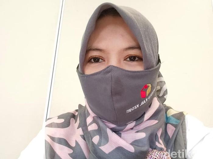 Ketua Bawaslu Kabupaten Kediri Saidatul Umah
