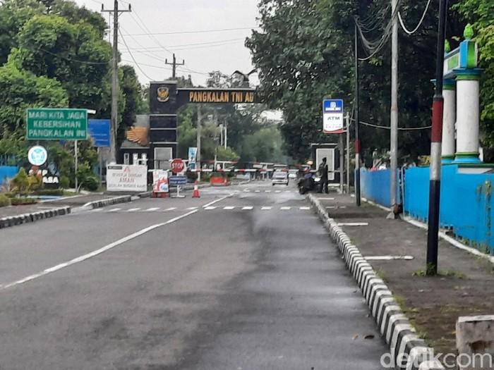 Lanud Adisutjipto, Yogyakarta, Senin (7/12/2020).