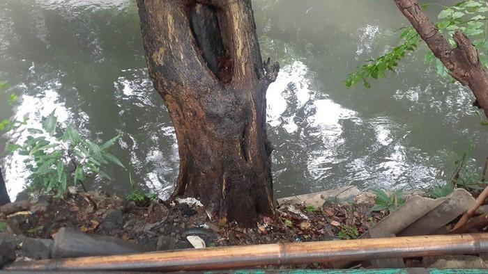 Lokasi penemuan mayat mutilasi di Kalimalang, Kayuringin, Bekasi Selatan