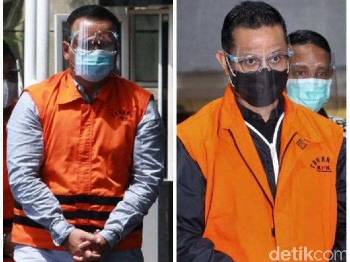 Menteri Kelautan dan Perikanan, Edhy  dan Prabowo Mensos Juliari Peter Batubara