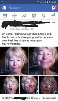 orang tua pakai media sosial
