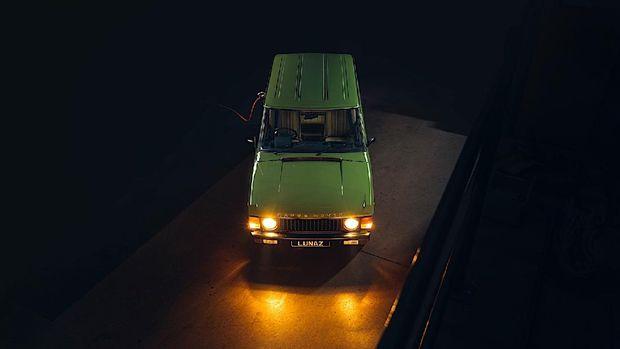 Range Rover klasik disulap jadi mobil listrik