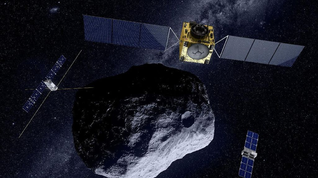 NASA Akan Tabrak Asteroid Menggunakan Roket