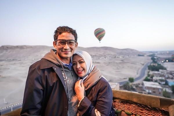 Dalam Instagramnya, Sandiaga kerap juga membagikan foto-fotonya menikmati tempat wisata. (sandiuno/Instagram)
