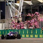Hasil F1 GP Sakhir: Racing Point Dominan, Sergio Perez Jadi Pemenang