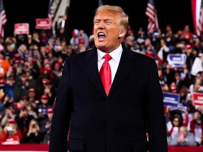 Trump tekan gubernur Georgia untuk bantu ubah hasil Pilpres AS