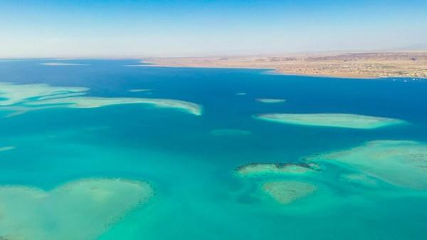 Arab Saudi masih terus mengerjakan beberapa giga proyek untuk pariwisata. Yang ini adaalh Neom, calon kota futuristik saingan Dubai. (Saudi Commission for Tourism and Heritage)