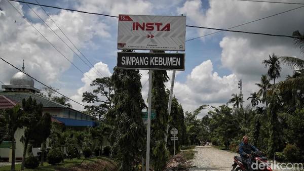 Sehingga ada nama jalan dinamakan Simpang Kebumen.
