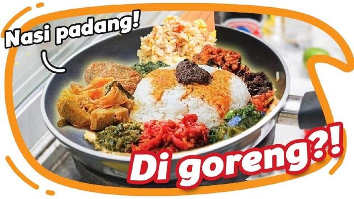 Nasi Padang Jadi Nasi Goreng