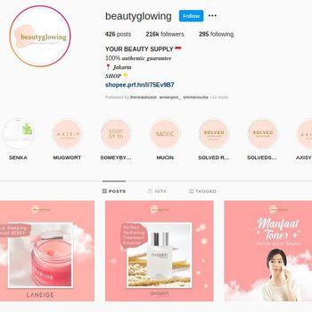 Online shop kosmetik Korea