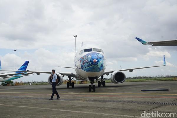 Bagaimana menurut traveler masker-masker yang dipakai pesawat Garuda ini?