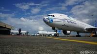 Di Periode Larangan Mudik, Penjualan Tiket Garuda Indonesia Turun 40%