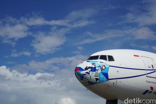 Adapun motif-motif ini desain dari pemenang yang dirangkum dalam rangkaian program kompetisi Fly Your Design To The Sky.
