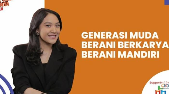 Putri Tanjung Berbincang dengan Dua Pemenang Wirausaha Muda Mandiri 2020