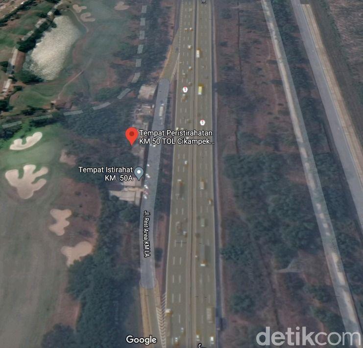 Rest area km 50 Tol Jakarta-Cikampek