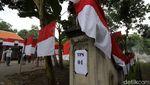 TPS Merah Putih Ramaikan Pilkada Sukoharjo 2020