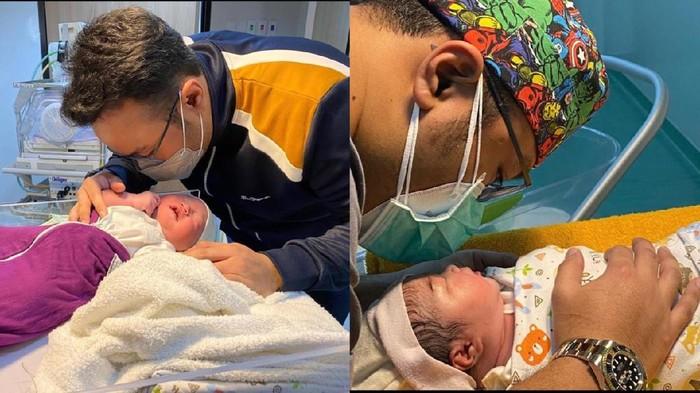 Viral dokter mengazankan bayi
