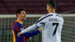 Tinggalkan Barcelona, Messi Akhirnya Terima Tantangan Ronaldo