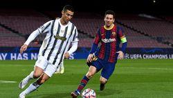Penampakan Kliping Berita Cristiano Ronaldo di Tempat Latihan Barca