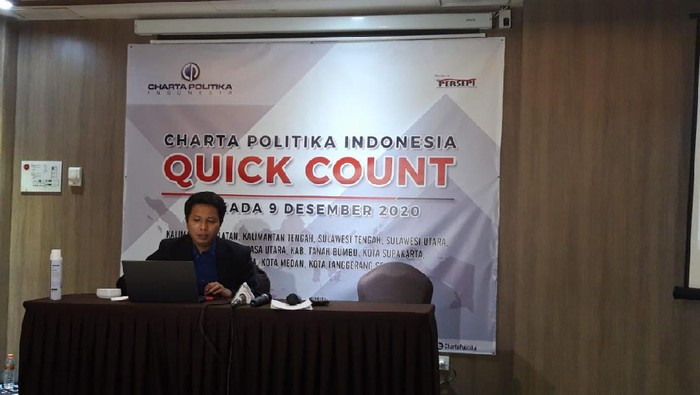 Peneliti Charta Politika, Dadang Nurjaman menyampaikan analisi terkait Pilwalkot Solo 2020.