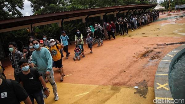 Diketahui Dufan atau Dunia Fantasi merupakan salah satu destinasi wisata favorit warga Jakarta.