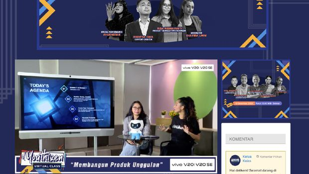 d'Youthizen Virtual Class Edisi Keenam