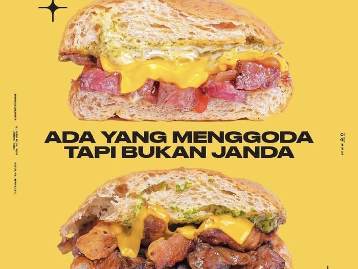 Pakai Kata Janda Saat Promosi, Gerai Sandwich Ini Dikecam