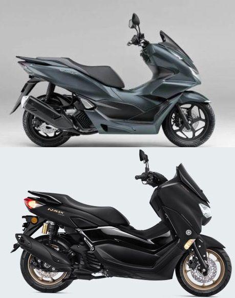 Honda PCX 160 vs Yamaha Nmax Connected ABS