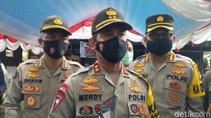 Kapolda Sulawesi Selatan Irjen Merdisyam (Hermawan-detikcom).