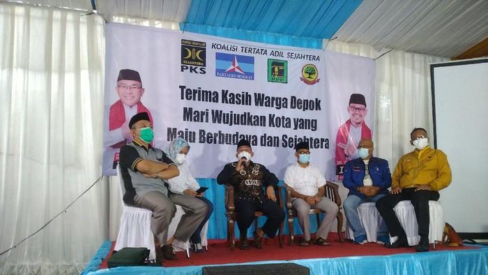 Idris-Imam akan sowan ke Pradi-Afifa jika ditetapkan menang di Pilkada Depok 2020.