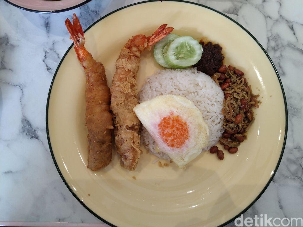 Ponggol : Nasi Lemak Populer di Singapura Kini Ada di Jakarta