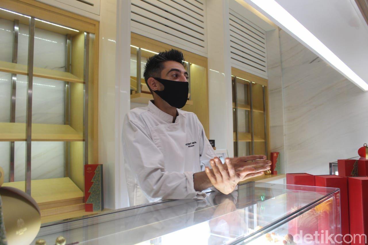 3 Yule Log Buatan Chef Vincent Nigita Sang Maestro Dessert Ada di Jakarta