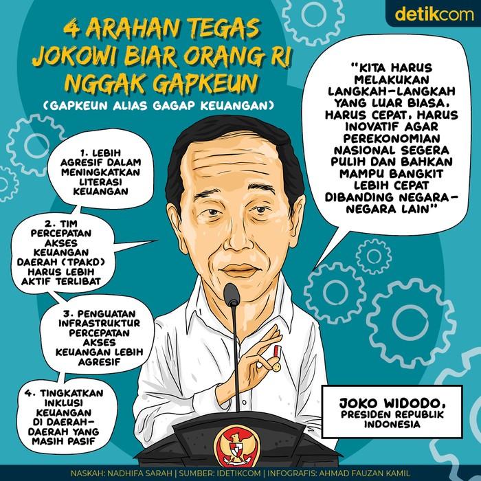 4 Arahan Jokowi