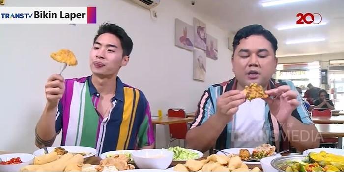 Bikin Laper Trans TV: Cicip Pempek dan Model khas Palembang