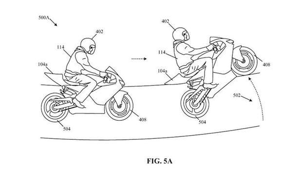 Dokumen paten calon motor baru Honda