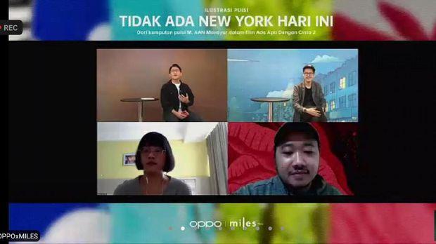Jumpa Pers Serial Ilustrasi Tidak Ada New York Hari Ini Tayang di YouTube OPPO Indonesia