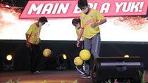 Kompetisi Juggling Bola Kemenpora Diikuti 11.000 Peserta