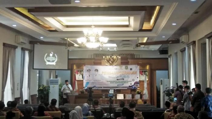 Komisi Informasi Pusat (KIP) mengapresiasi Pemprov Banten yang mendapat predikat informatif dari hasil monitoring dan evaluasi keterbukaan informasi publik 2020.