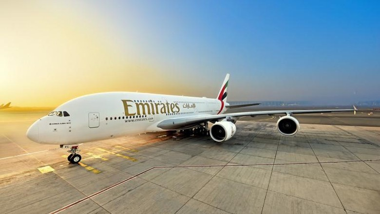 Pesawat A380 Emirates
