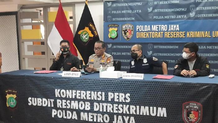 Polisi rilis kasus mutilasi di Bekasi.