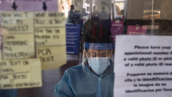 Protret salah seorang dokter di RS California (AP Photo)