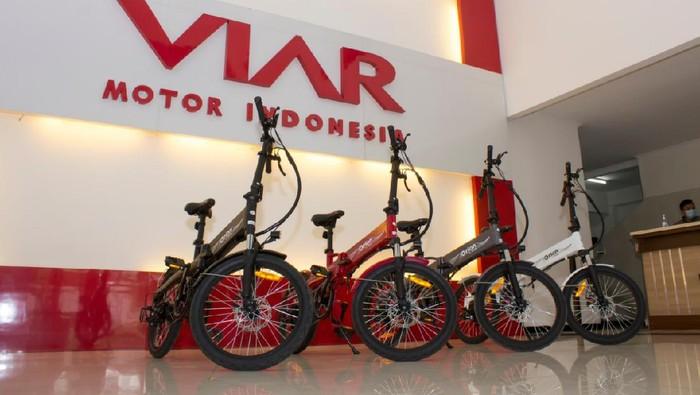 Sepeda listrik lipat Viar Orion