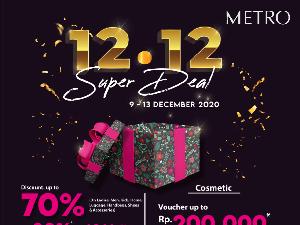 Promo 12.12, Serbu Diskon Hingga 70% Metro Department Store